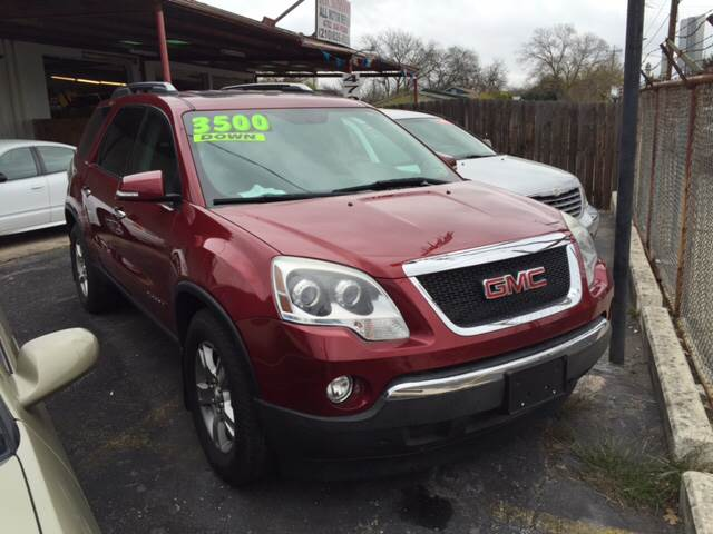 2008 gmc acadia slt 1 awd 4dr suv in san antonio converse for H r motors san antonio