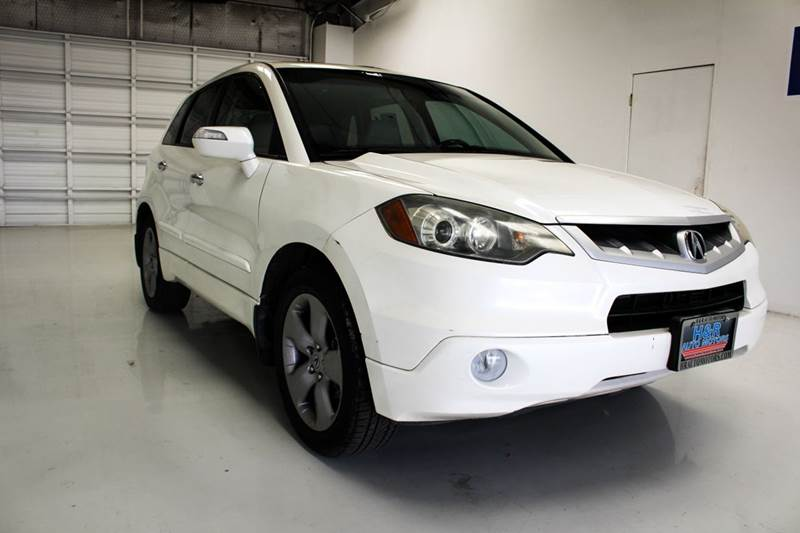 2008 acura rdx sh awd w tech sh awd 4dr suv w technology for H r motors san antonio