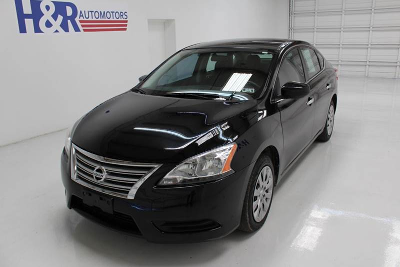 2013 nissan sentra sv 4dr sedan in san antonio tx h r for H r motors san antonio