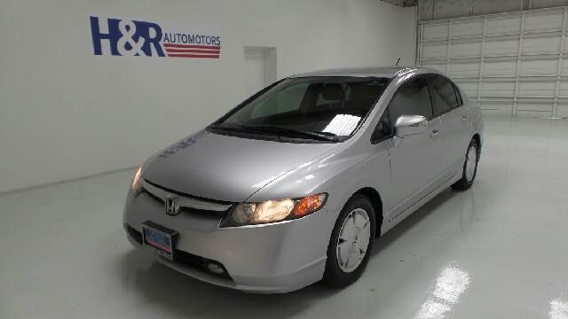 2008 honda civic hybrid sedan in san antonio converse for H r motors san antonio