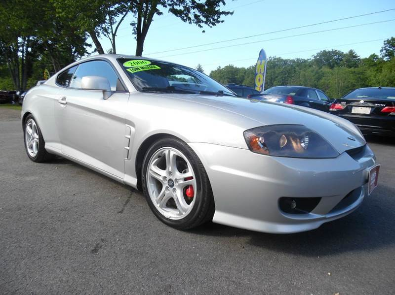 2006 hyundai tiburon gt limited 2dr hatchback in brentwood for Lewis motor sales brentwood nh