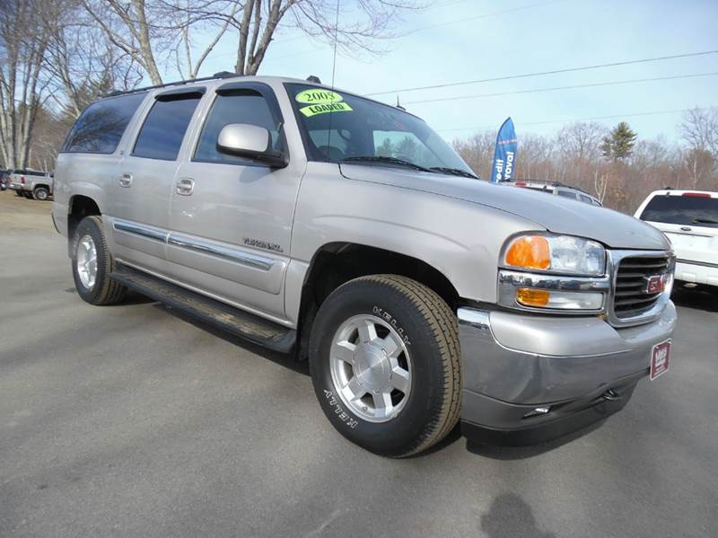 2005 gmc yukon xl 1500 slt 4wd 4dr suv in brentwood nh lewis motor sales. Black Bedroom Furniture Sets. Home Design Ideas