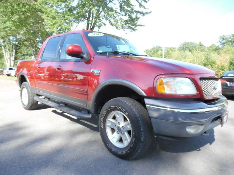 2002 ford f 150 xlt 4dr supercrew 4wd styleside sb in for Lewis motor sales brentwood nh