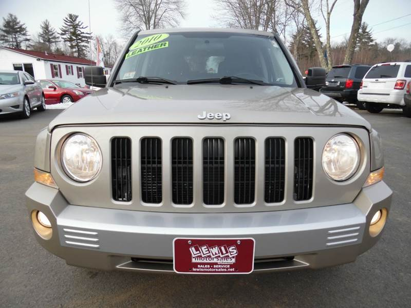 2010 jeep patriot limited 4x4 4dr suv in brentwood nh for Lewis motor sales brentwood nh