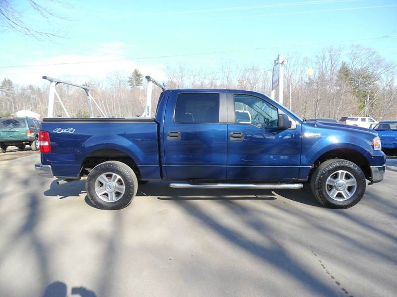 2007 ford f 150 xlt 4dr supercrew 4wd styleside 5 5 ft sb for Lewis motor sales brentwood nh