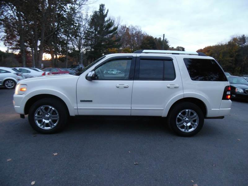 2007 ford explorer limited 4dr suv 4wd v6 in brentwood nh. Black Bedroom Furniture Sets. Home Design Ideas