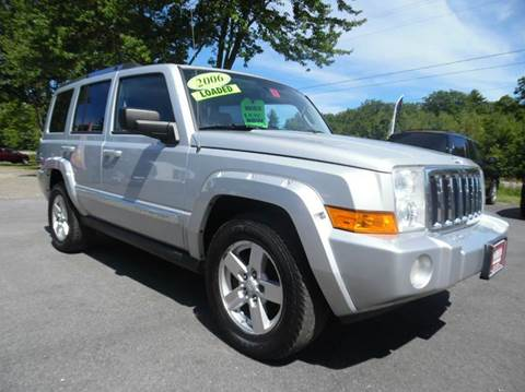 Used jeep commander for sale new hampshire for Lewis motor sales brentwood nh