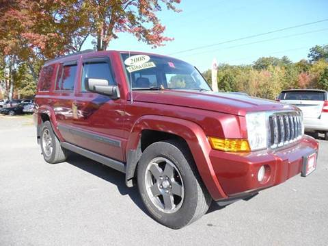 2008 Jeep Commander for sale in Brentwood, NH