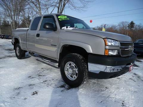 2005 Chevrolet Silverado 2500HD for sale in Brentwood, NH