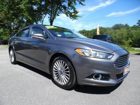 2013 Ford Fusion for sale in Brentwood, NH