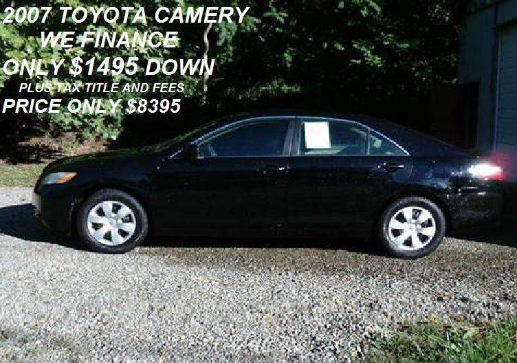 2007 Toyota Camry Ce 5 Spd At In Oil City Pa Route 8 Auto Sales