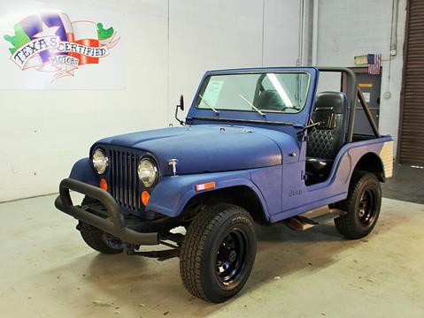 1979 Jeep CJ-7 for sale in Odessa, TX