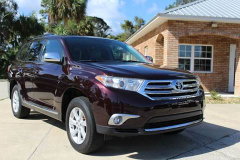 2012 Toyota Highlander for sale in Edgewater, FL