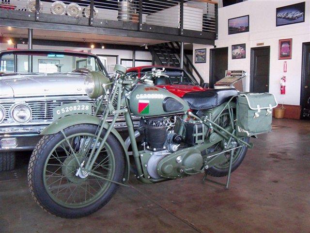 1939 BSA M-20 Military