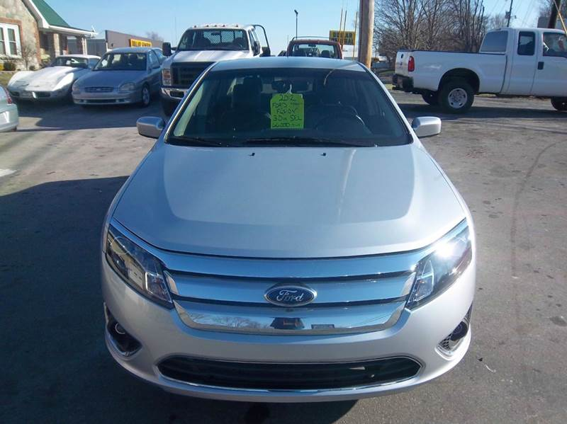 2012 Ford Fusion SEL 4dr Sedan - Campbellsville KY