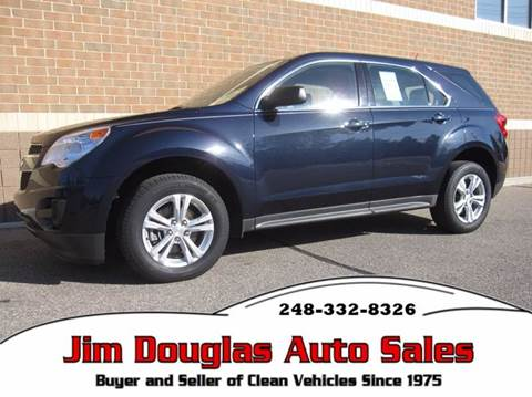 2015 Chevrolet Equinox for sale in Pontiac, MI