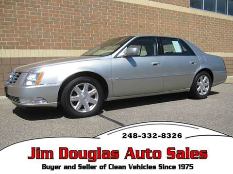 2007 Cadillac DTS For Sale Michigan - Carsforsale.com