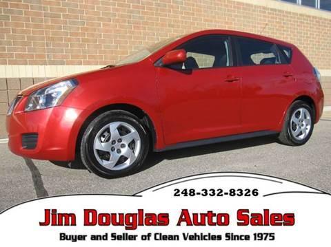 2009 Pontiac Vibe for sale in Pontiac, MI