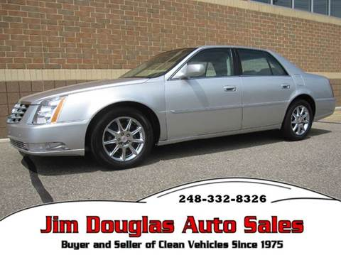 2011 Cadillac DTS for sale in Pontiac, MI