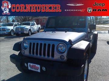 2016 Jeep Wrangler Unlimited for sale in Norfolk, NE