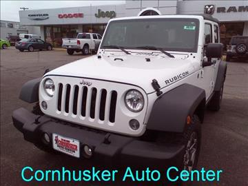 2015 Jeep Wrangler Unlimited for sale in Norfolk, NE