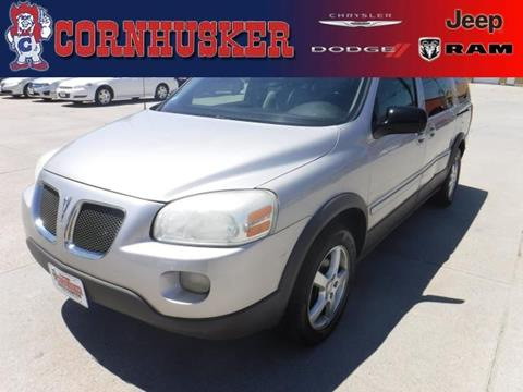 2005 Pontiac Montana SV6 for sale in Norfolk, NE