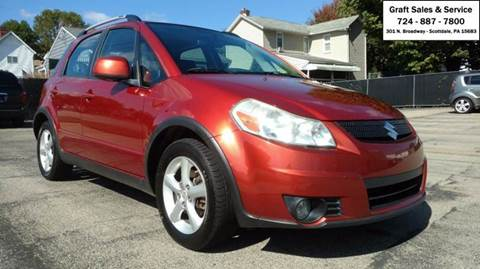 2009 Suzuki SX4 Crossover for sale in Scottdale, PA