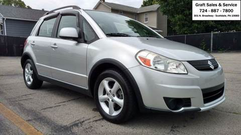 2008 Suzuki SX4 Crossover for sale in Scottdale, PA