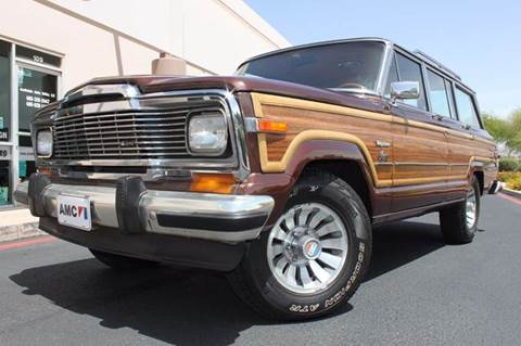 1981 Jeep Wagoneer for sale in Scottsdale, AZ