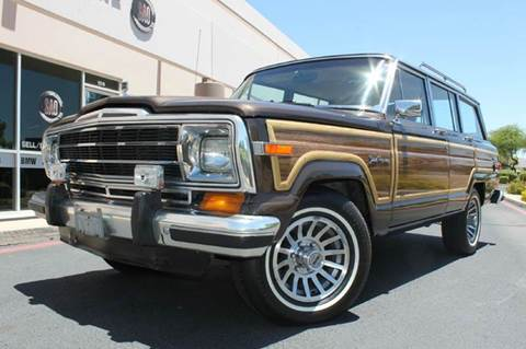 1987 Jeep Grand Wagoneer for sale in Scottsdale, AZ
