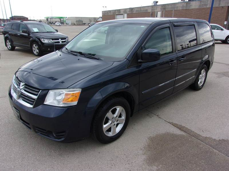 2008 dodge grand caravan sxt extended mini van 4dr in fort. Black Bedroom Furniture Sets. Home Design Ideas