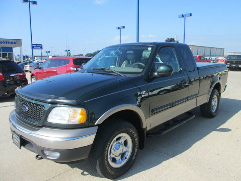 2003 Ford F 150 Lariat 4dr Supercab 4wd Styleside Sb In