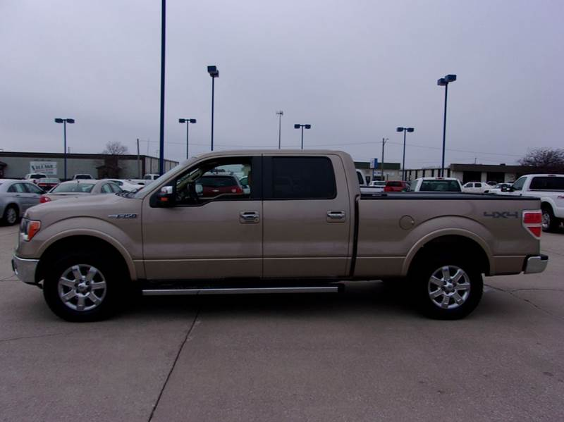 2012 Ford F 150 4x4 Lariat 4dr Supercrew Styleside 6 5 Ft Sb In Fort Dodge Ia Fort Dodge Motors