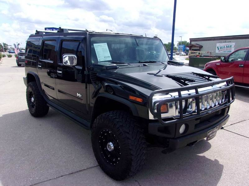 2003 Hummer H2 4dr Adventure Series 4wd Suv In Fort Dodge