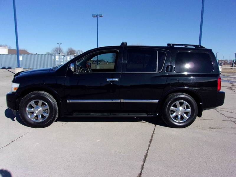 2006 infiniti qx56 4dr suv 4wd in fort dodge ia fort dodge motors. Black Bedroom Furniture Sets. Home Design Ideas