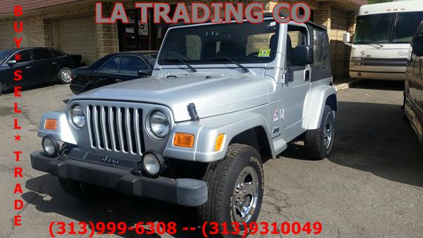 2003 jeep wrangler for sale in detroit mi. Cars Review. Best American Auto & Cars Review