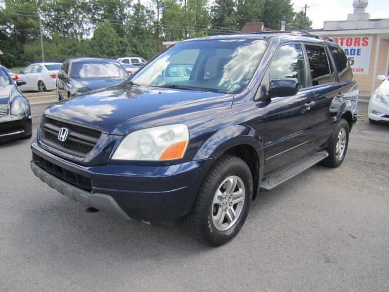 2004 honda pilot 4dr ex l 4wd suv w leather and navigation for Atlanta luxury motors inc