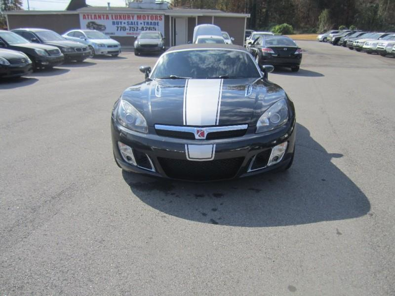 2008 Saturn Sky Red Line Carbon Flash Se 2dr Convertible