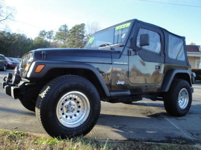 Used 1998 jeep wrangler for sale for Carvalho s bargain motors