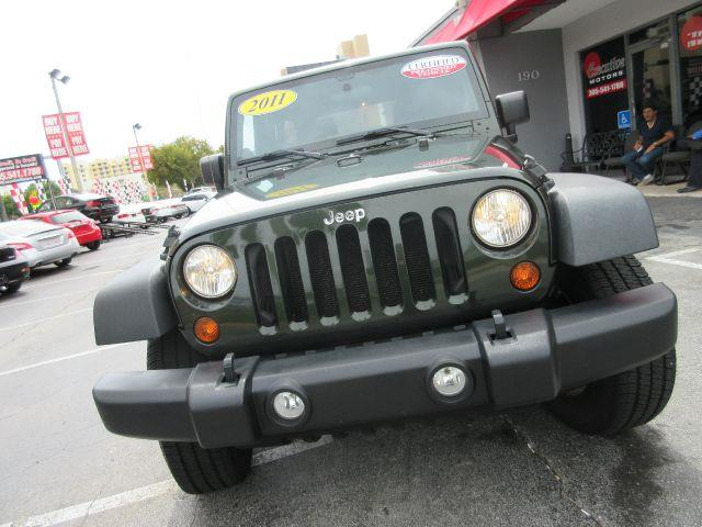 2011 JEEP WRANGLER UNLIMITED SPORT 4X4 4DR SUV hunter green all power equipment on this vehicle i