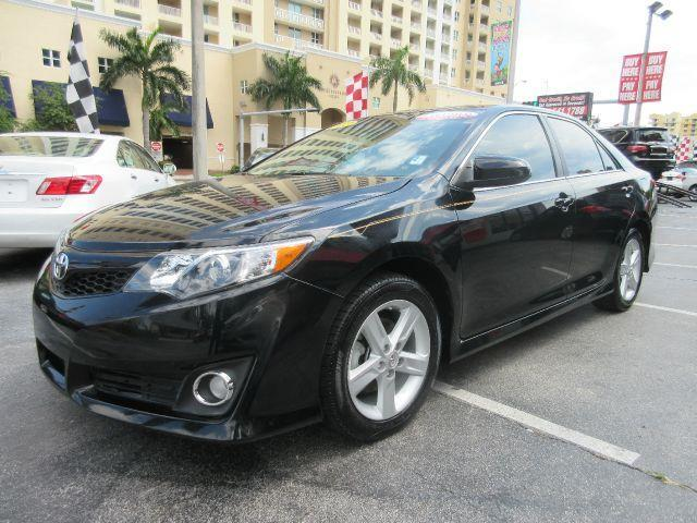 2012 TOYOTA CAMRY SE 4DR SEDAN black executive motors is a family owned and operated dealership th