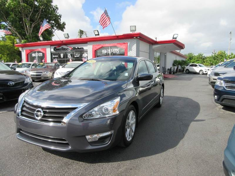 2013 NISSAN ALTIMA 25 SV 4DR SEDAN dark grey this 2013 nissan altima is a beauty it comes equipp