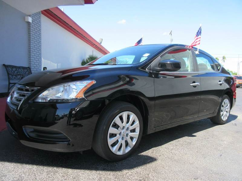2013 NISSAN SENTRA SV 4DR SEDAN black executive motors is a family owned and operated dealership