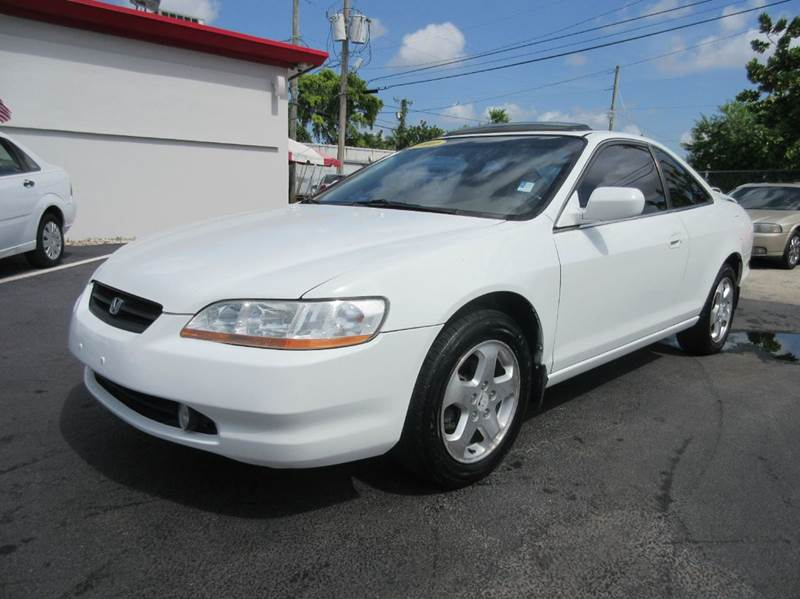 2000 HONDA ACCORD EX V6 2DR COUPE white fresh trade call us before we send it to auctionthis a
