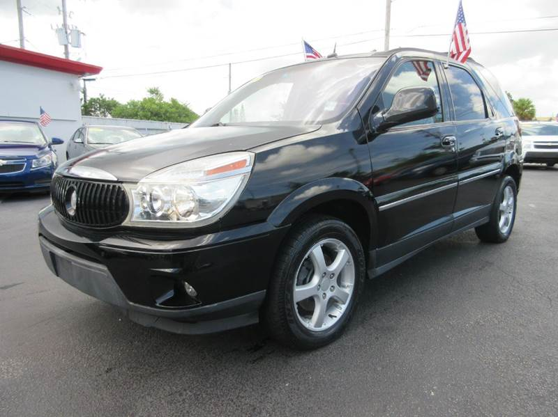 2005 BUICK RENDEZVOUS ULTRA AWD 4DR SUV black executive motors is a family owned and operated dea
