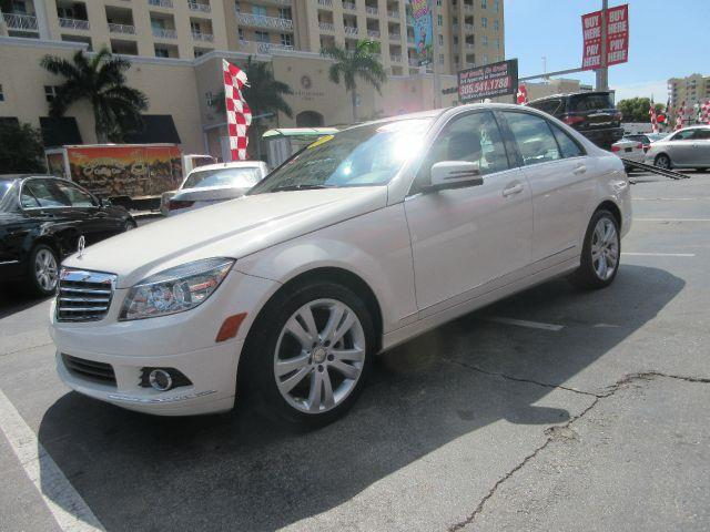 2011 MERCEDES-BENZ C-CLASS C300 LUXURY 4DR SEDAN white executive motors is a family owned and oper