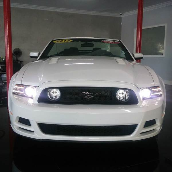 2013 FORD MUSTANG GT PREMIUM 2DR CONVERTIBLE white 2-stage unlocking - remote abs - 4-wheel air