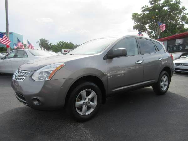 2010 NISSAN ROGUE SL 4DR CROSSOVER gray 2-stage unlocking abs - 4-wheel active head restraints