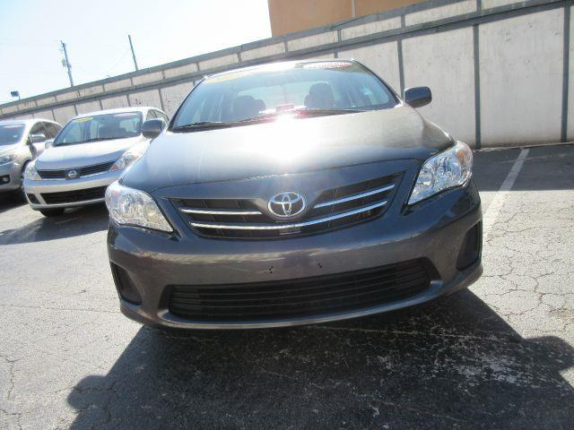 2013 TOYOTA COROLLA L 4DR SEDAN 4A grey abs - 4-wheel active head restraints - dual front air f
