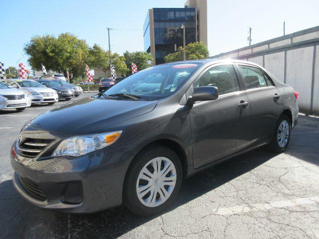 2013 TOYOTA COROLLA L 4DR SEDAN 4A grey executive motors is a family owned and operated dealershi